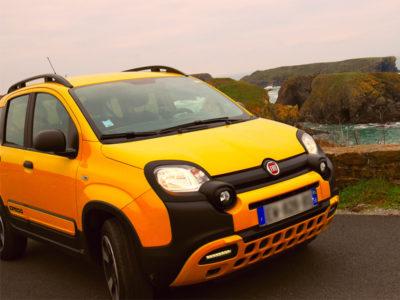 JVDBI - Panda Jaune - voitures - autos - véhicules