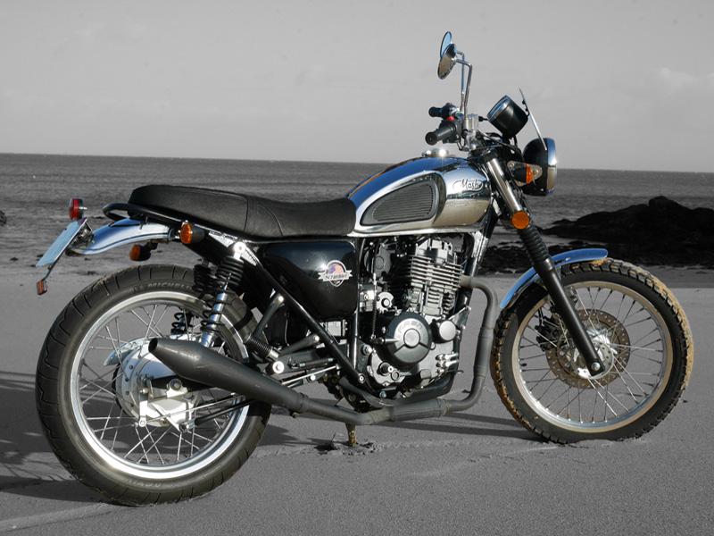 Motos Mash 400 n°2 - Driv'in Belle-Île