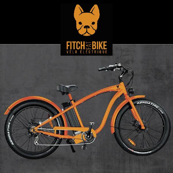 Fitch Bike vélos electriques disponible chez Driv'in Belle Ile agence de location