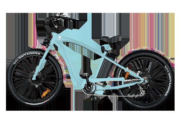 Location vélos électriques Belle ile