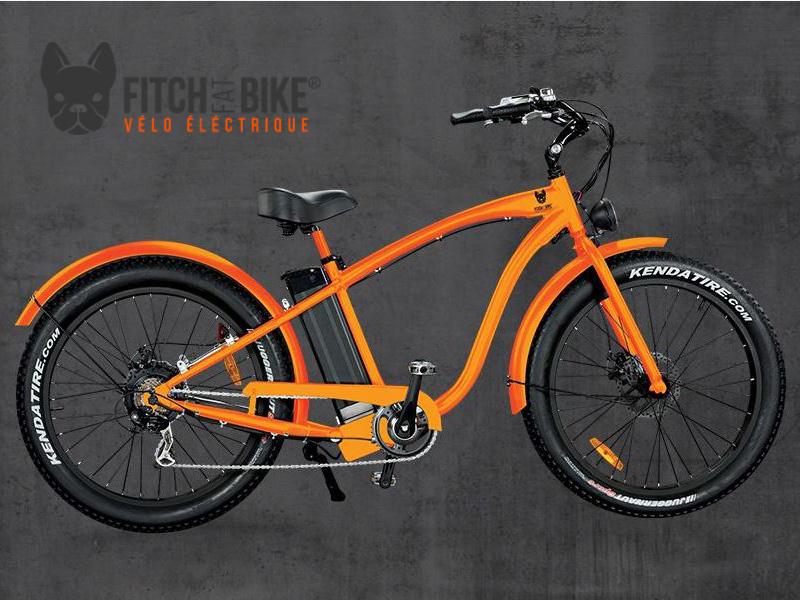 vélos électriques Fitch Bike en location chez Driv'in Belle Ile