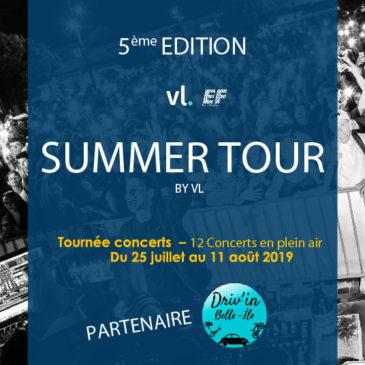 Notre partenariat avec Le Summer Tour 2019