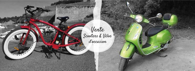 Vente Scooters et vélos d'occasion