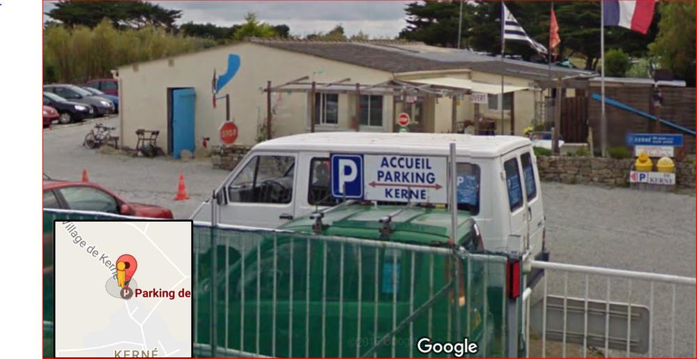 Parking de Kerné - Quiberon - Belle Ile
