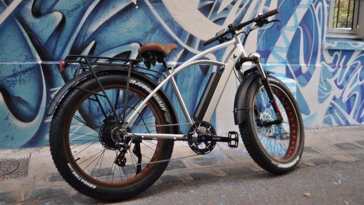 Urban Fitch Bike - Vélo à assistance électrique