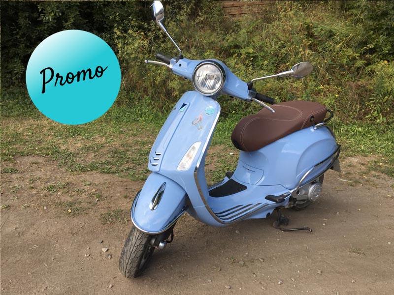nouveau prix - 50cc 4T Bleu lavande - vente