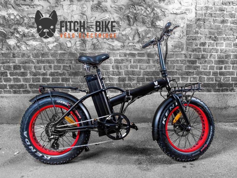 vélos électriques Fitch Bike en location chez Driv'in Belle Ile Electric bicycles