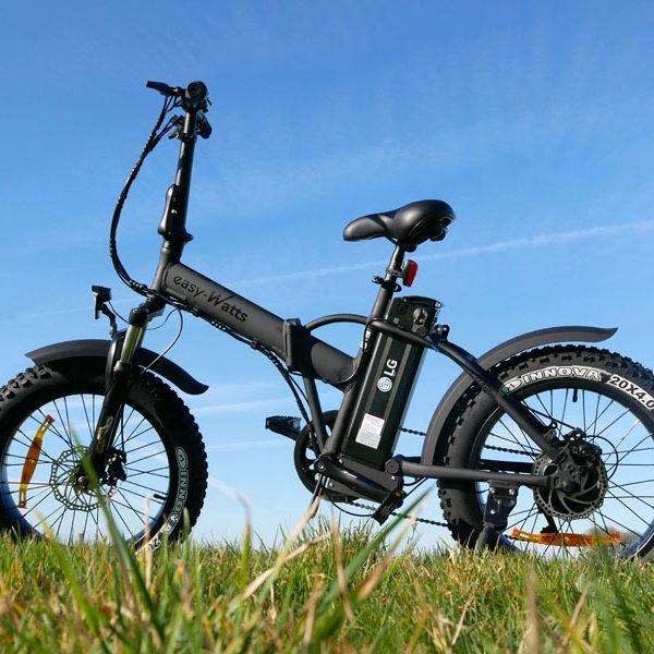E-nomad - Vélo EasyWatt noir