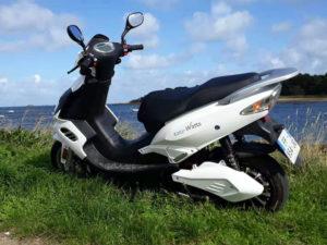 Scooter electrique E-Stock 50 cc