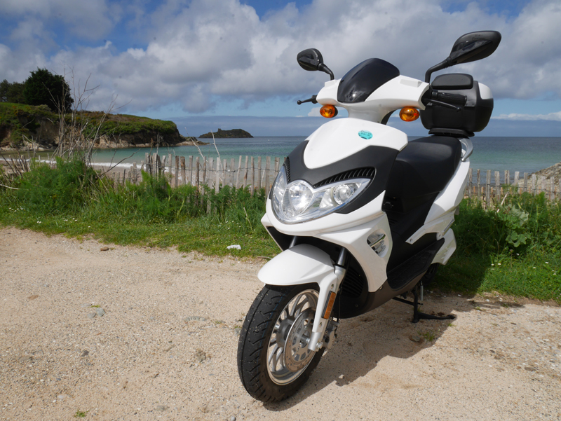 Scooters E-Stock - Driv'in Belle-Île