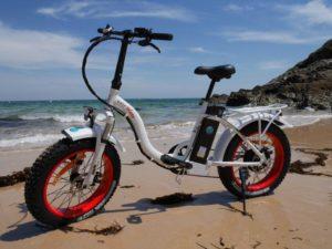 Vélo électrique EasyWatt blanc
