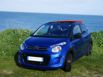 Location autos - Citroën C1 CC - Drivin Belle Ile