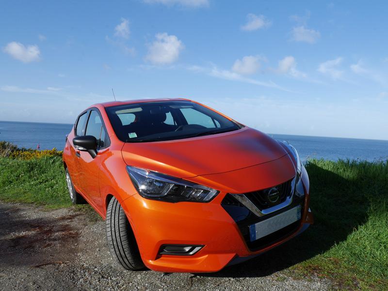 Location autos - Nissan Micra - Drivin Belle Ile - voitures